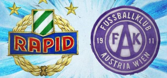 Hotspot Mittelfeld: Die Radargrafiken zu den Schlüsselspielern vor dem Wiener Derby