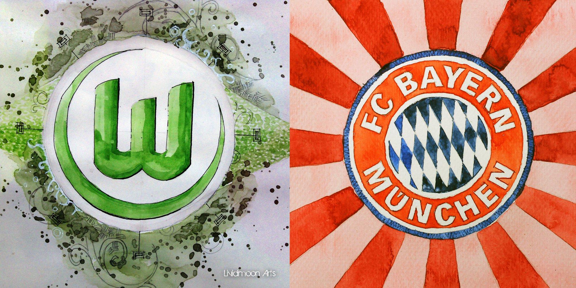 Spielfilm/Taktikticker: VfL Wolfsburg – FC Bayern München 1:6