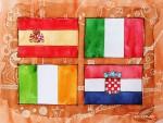 Kroatien verpasst den Aufstieg, Spanien und Italien setzen sich durch
