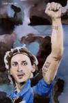 Zlatan Ibrahimovic (AC Milan, Schweden)