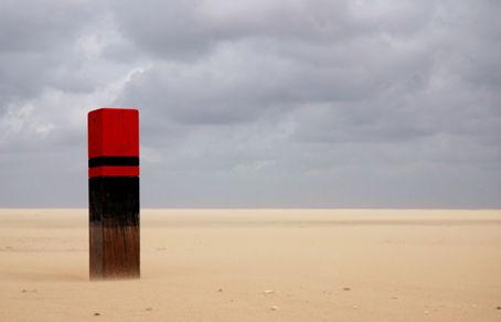 Pfosten der Woche (KW 47) – Strandpaal op Ameland