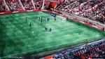 Spielszene, Stadion