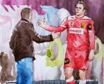 Stefan Schwabs Verletzung und die Auswirkungen auf das Spiel Rapids