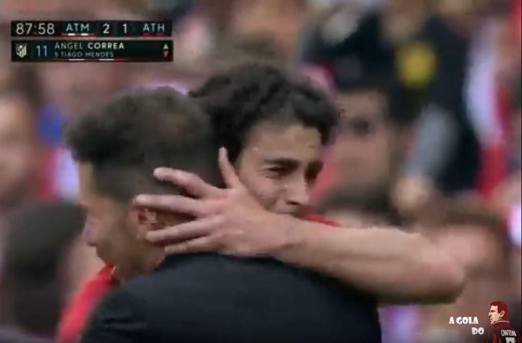 Tiagos tränenreicher Abschied von Atlético Madrid