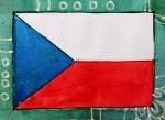 Tschechien Flagge