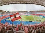 Gänsehautstimmung vor dem Spiel Österreich gegen Deutschland